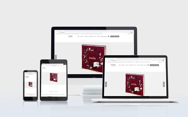 Mockup Website Beauty Elle