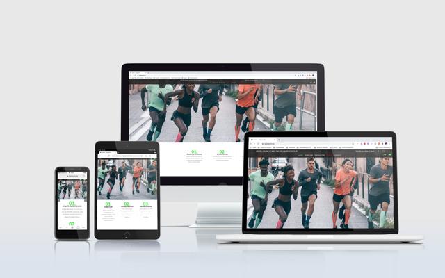 Mockup webshop Cenpsports