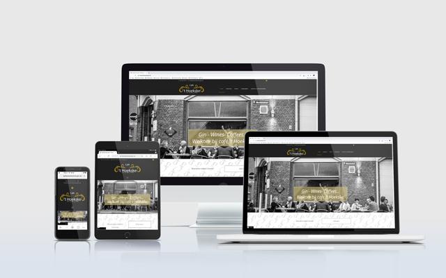 Mockup website 't Hoekske Keerbergen