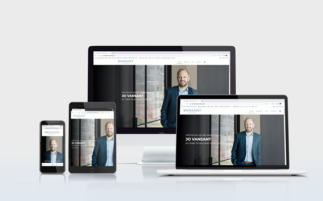 Mockup website Vansant Accounting